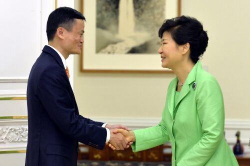马云朴槿惠勾兑背后:中国互联网撬动全球!,互联网的一些事