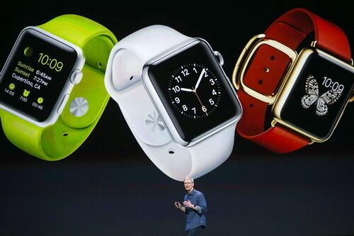 苹果手表已赢在起跑线